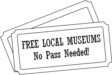 large logo free museums